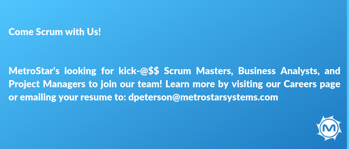 Takeaway #4- Build your scrum with us!