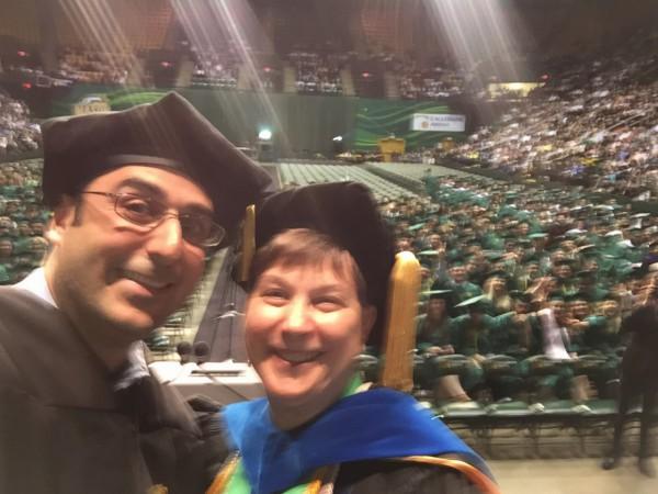 GMU Commencement CEO Selfie