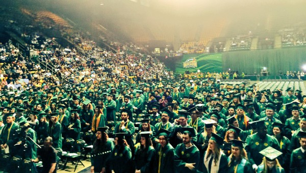 GMU Graduation ceremony 2016