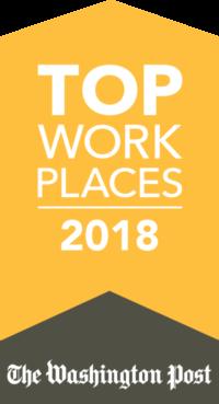Washington Post Top Workplaces Award Logo