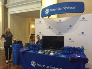 MetroStar Systems information booth